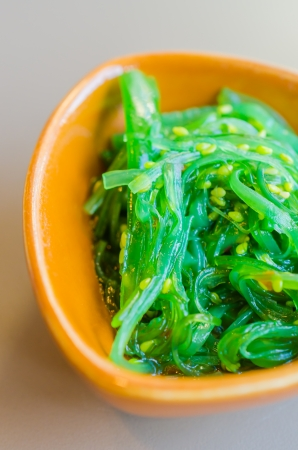 japon food: salade d'algues Japon nourriture Banque d'images