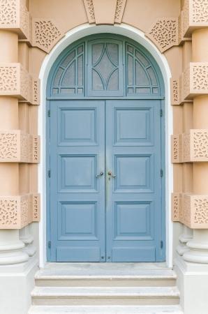 Wood windows photo