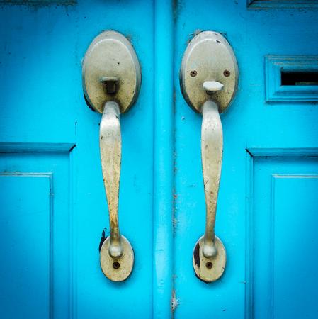 open hole: Old vintage knob