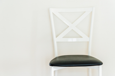 Empty room with chair interior photo