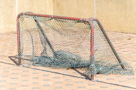 soccer net: Gold soccer net