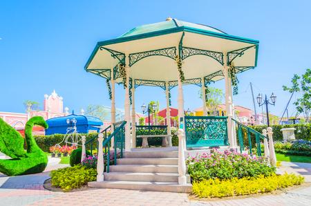 pavillion: Garden pavillion Stock Photo