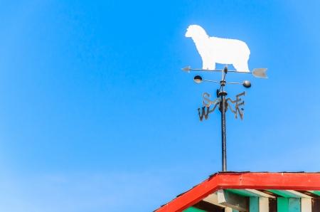 wiatrowskaz: Kompas wiatrowskaz