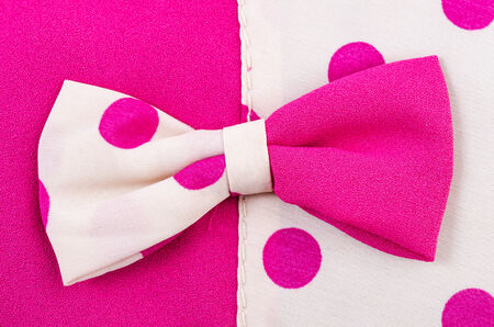 Pink bow photo