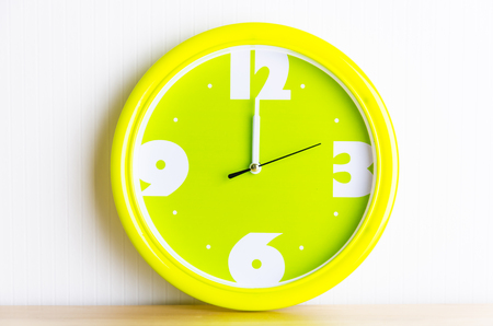 Colorful clock photo