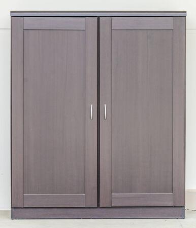 Wood cupboard furniture photo