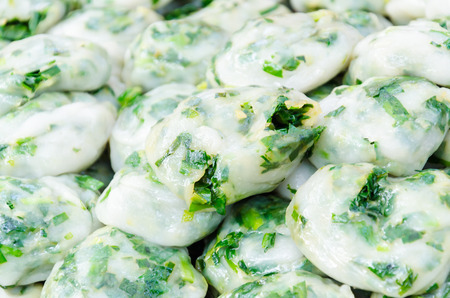 Garlic chives thai food Stock Photo - 26213751