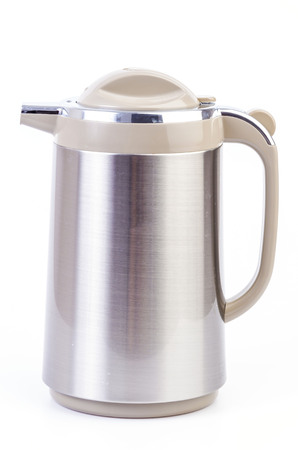 Kettle on isolated white background photo