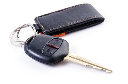 Car keys remote on isolated white background Stock Photo - 26356793