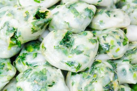 Garlic chives thai food Stock Photo - 26604497