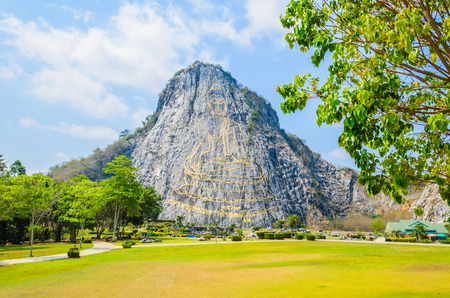 Buddha Mountain in pattaya Thailand photo