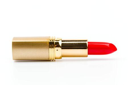 lipstick tube: lipsticks isolated white background