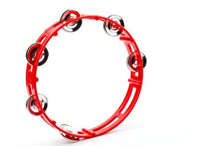 tambourine: Isolated tambourine