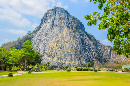 Buddha Mountain in pattaya Thailand photo