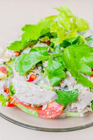 Spicy thai salad photo