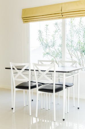 Table chair dining interior photo