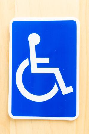 cripple sign photo