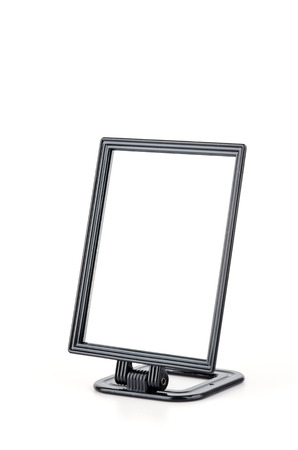 Mirror isolated white background Stock Photo - 27394815