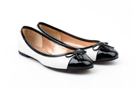 Sandal shoes isolated white background photo