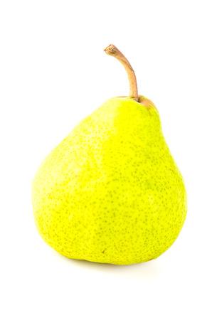 Pear isolated white background photo