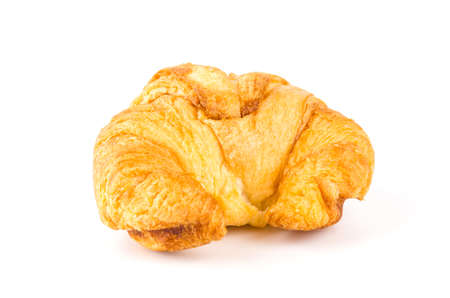 buttery: croissant isolated white background