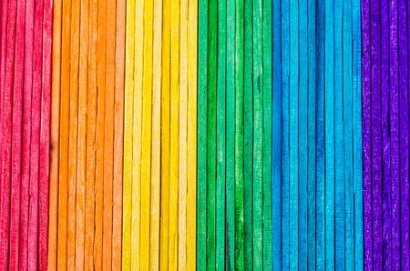 case colorate: In legno colorato texture di sfondo