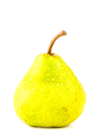 Pear isolated white  photo