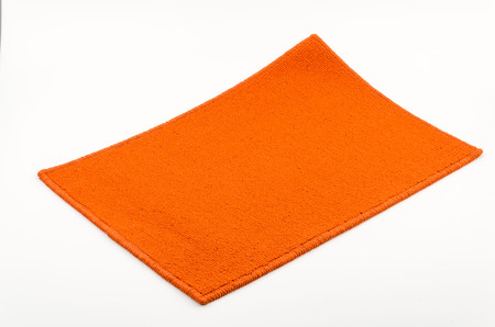 welcome mat: Isolated mat Stock Photo