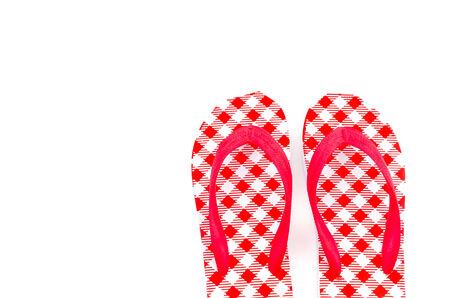 flip flops: Flip flops isolated white background