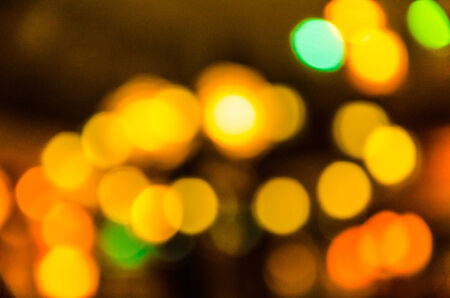 hong kong night: Bokeh Stock Photo