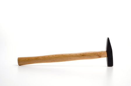 Hammer isolated white background