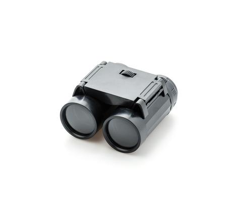 binoculars isolated on white photo