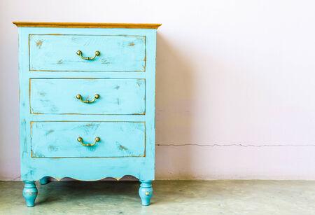 Wood furniture Stock Photo