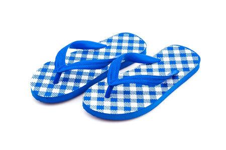 flip flops: Flip flops isolated white  Stock Photo