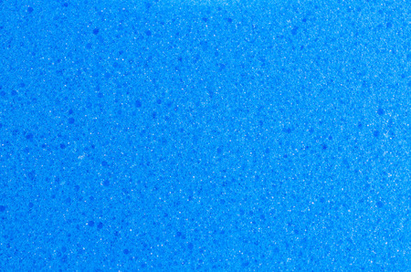 Blue Sponge texture using as background photo