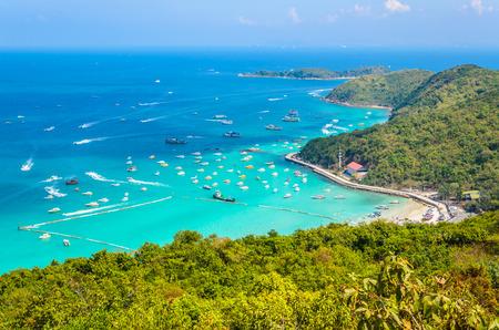 koh larn island tropical beach in pattaya city Thailand Imagens