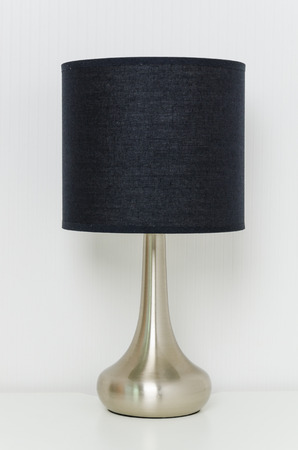 bedroom furniture: Table lamp
