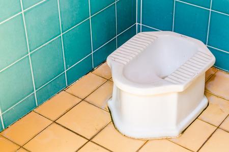 privy: Dirty toilet