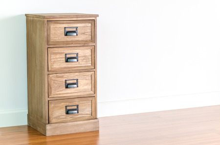 Bedside table furniture interior room photo