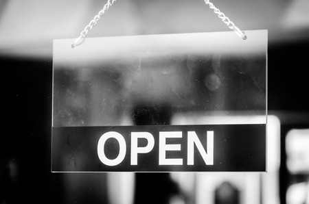 Open sign Stock Photo - 28944372