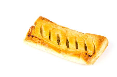 Pie isolated white background photo
