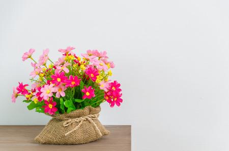 bedside: Flower on Table bedside Stock Photo
