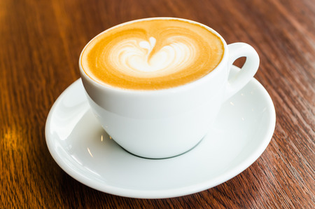 Latte coffee photo