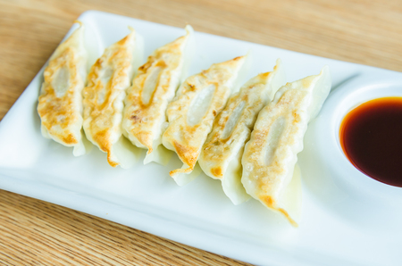 gyoza: Gyoza japanese Stock Photo
