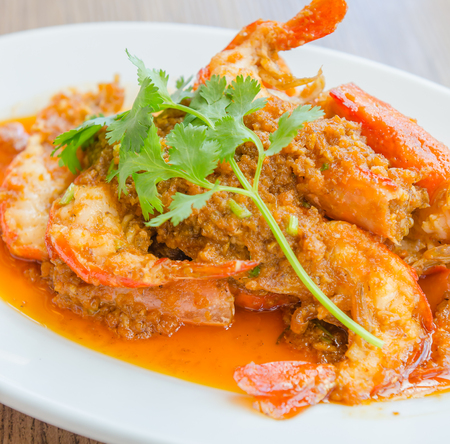 gambas: Fried shrimp garlic