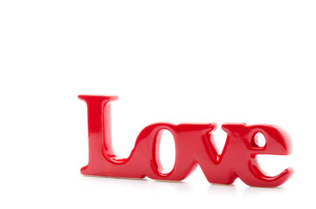 Love word background photo