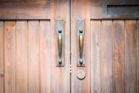 Door knobs Stock Photo