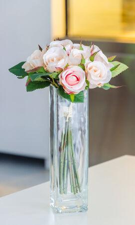 Flower in vase photo