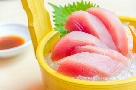 tuna fillet: Sashimi