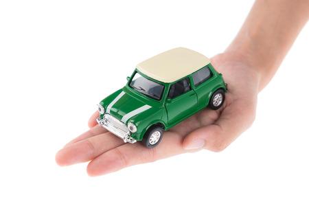 Insurance car Standard-Bild